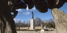 Jardín en el Parque del Retiro, Madrid