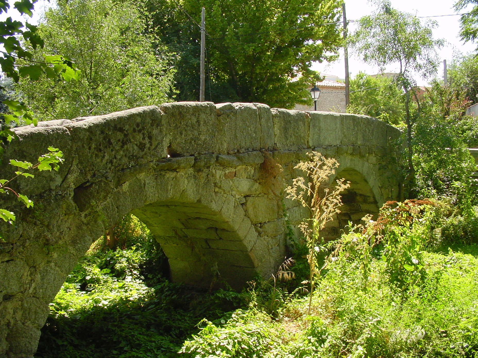 Puente la Fragua de Colmenar de Arroyo
