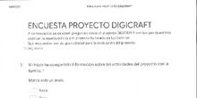 Encuesta a familias proyecto digicraft