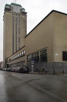 Biblioteca central de la Universidad de Gante, Bélgica