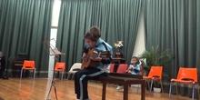 Jornadas Culturales concierto de alumnos guitarra