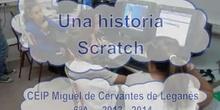 Una historia Scratch en el CEIP Miguel de Cervantes