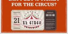 Carnaval 2020 - comprando la entrada para el circo