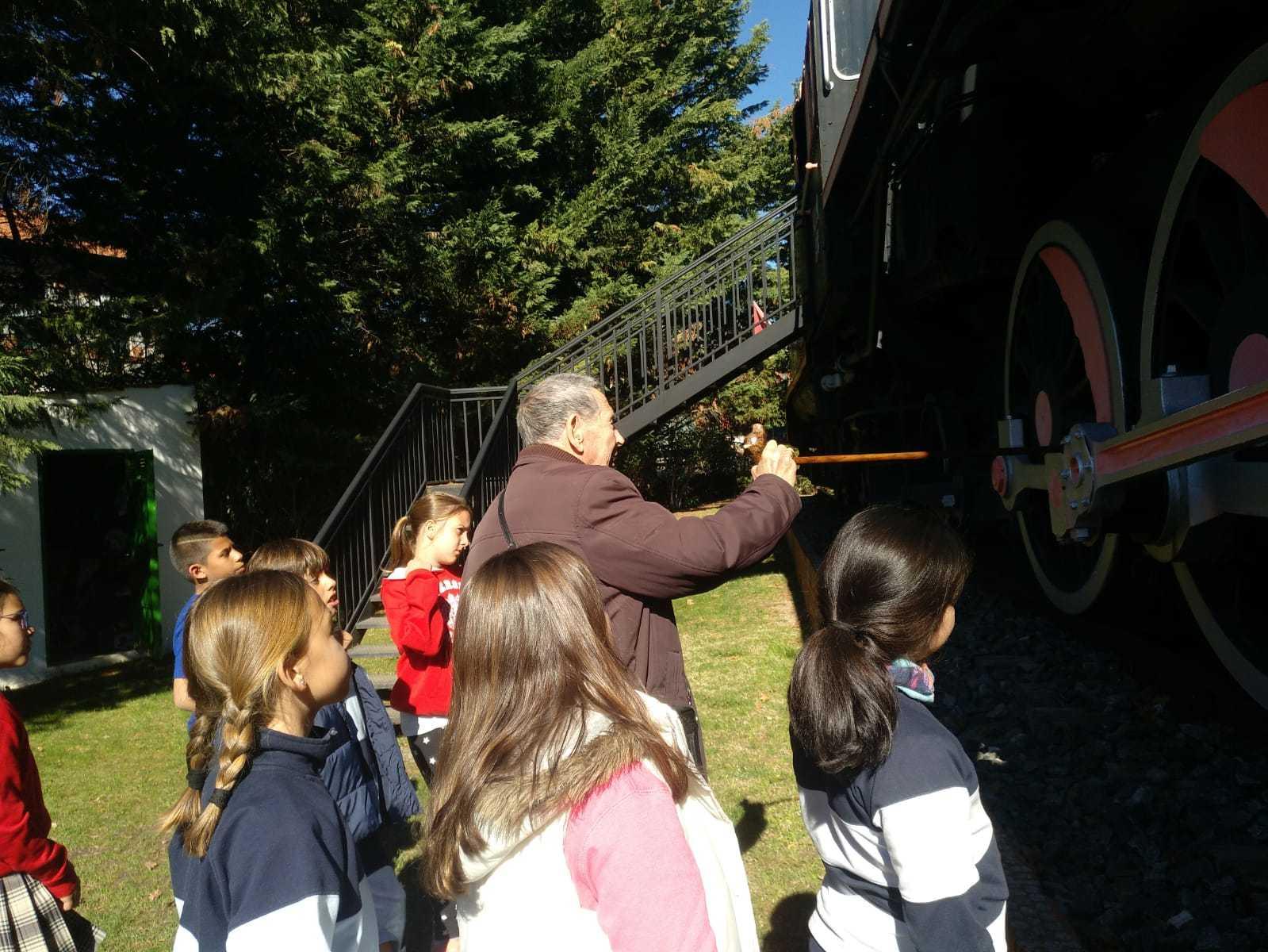 2019_03_15_Cuarto B visita el Museo del Ferrocarril de Las Matas_CEIP FDLR_Las Rozas 3