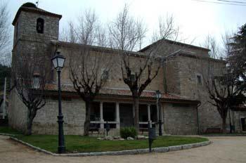 Iglesia De San Ildefonso Collado Mediano Madrid Mediateca De