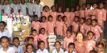 Agradecimiento de la ONG Akshy