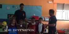 PRIMARIA 1º - LOS BOMBEROS VISITAN EL COLE
