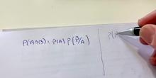 Probabilidad. Episodio 12. Bayes I.