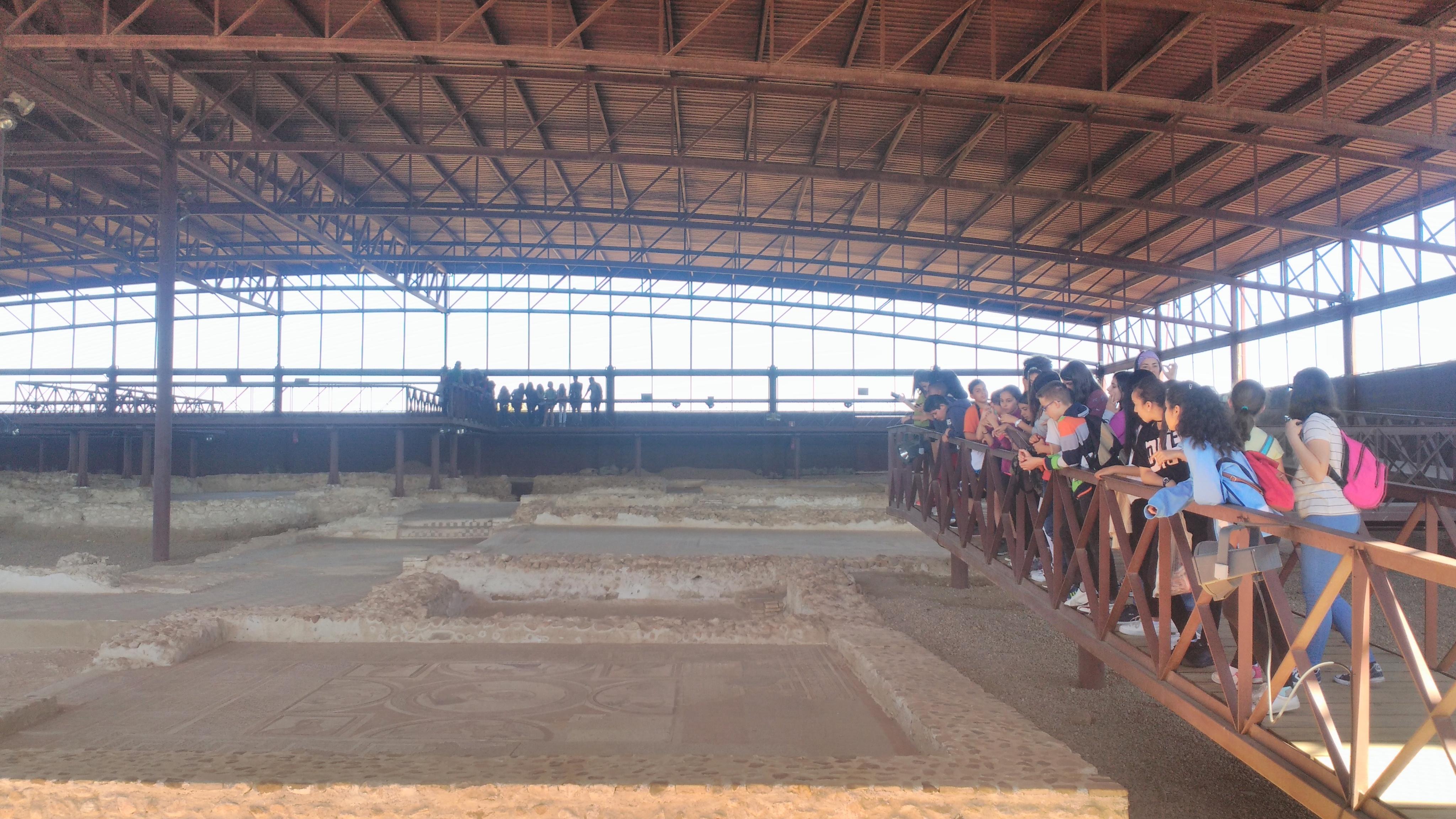 Parque arqueológico de Carranque. 1º ESO. 3 Mayo 2017 5