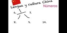 Lengua y cultura china (utensilios de cocina y numeros)