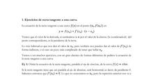 Ejercicios de recta tangente y coeficientes (pdf)