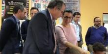 #cervanbot 2019: Visita del Consejero de Educación y Juventud de la Comunidad de Madrid y personalidades institucionales (grabado por alumnos)