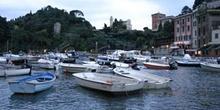 Barcos en el puerto, Portofino