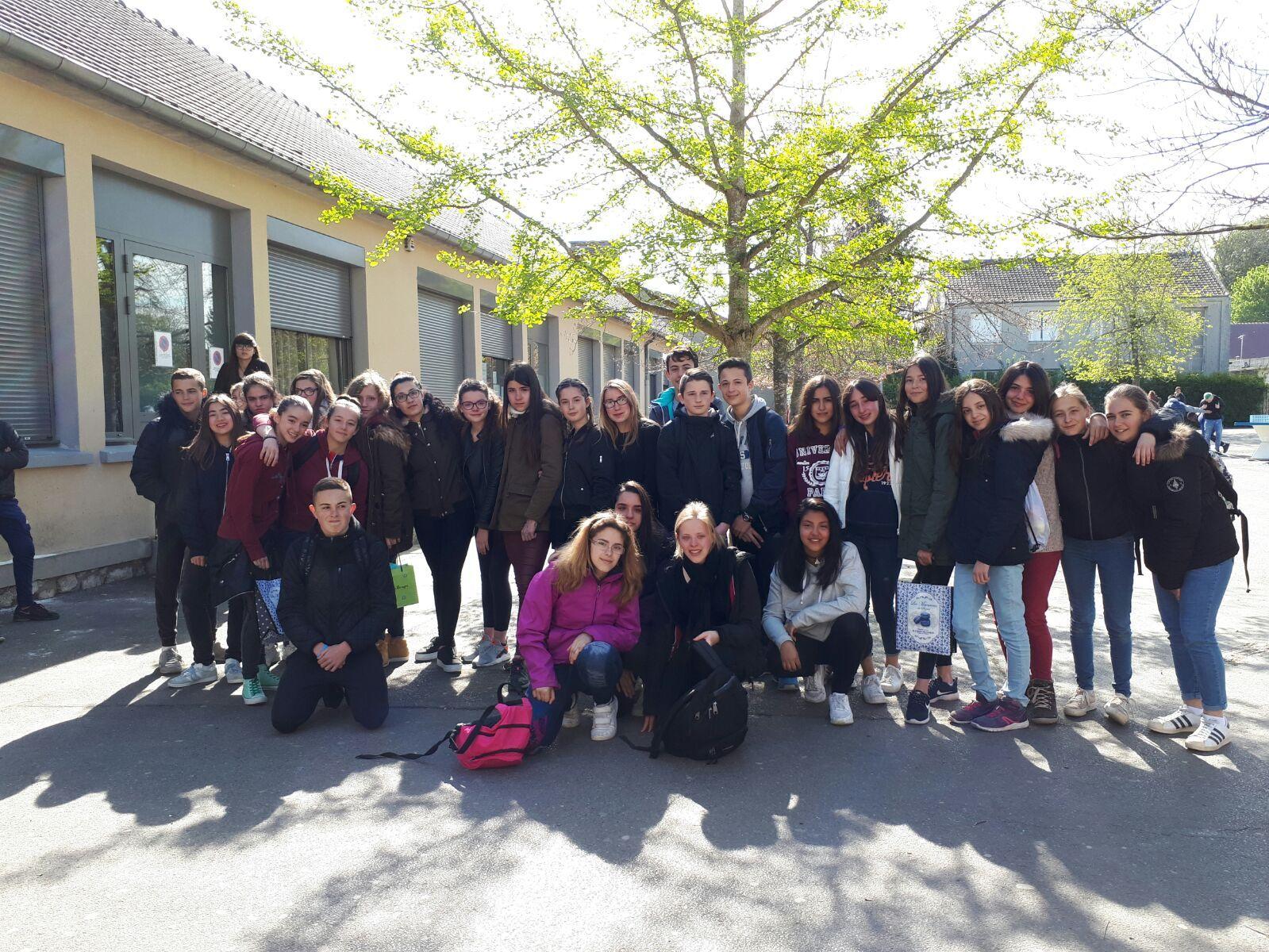 Intercambio Collège les Remparts. Abril 2017 7