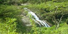 Cascada en las inmediaciones de Gurue, Mozambique