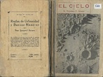 El Cielo. Nociones de Astronomía popular dispuestas para lectura en las escuelas (1923, 4.º ed.), de Victoriano F. Ascarza