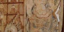 Pinturas al fresco en Bagan, Myanmar
