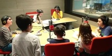 La escuela a escena en Radio 5 - Alumnos 1º ESO