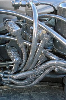 Vehículos industriales. Valvula de protección de 4 circuitos. Tu