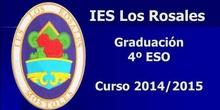 Graduacion 4 ESO IES Los Rosales 2015