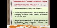 COMPLEMENTOS CIRCUNSTANCIALES DE LUGAR EN LATÍN