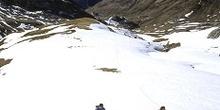 Esquí de montaña en el Portalet, Huesca