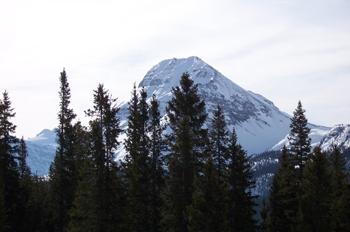 Wapta Icefield y Monte Bow (2868 m), Parque Nacional Banff