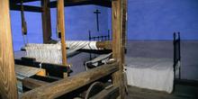 Casa de campesinos (s.XIX): Habitación con telar, Museo del Pueb