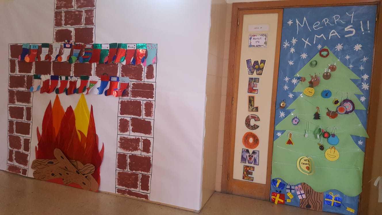 Decoración navideña centro 24