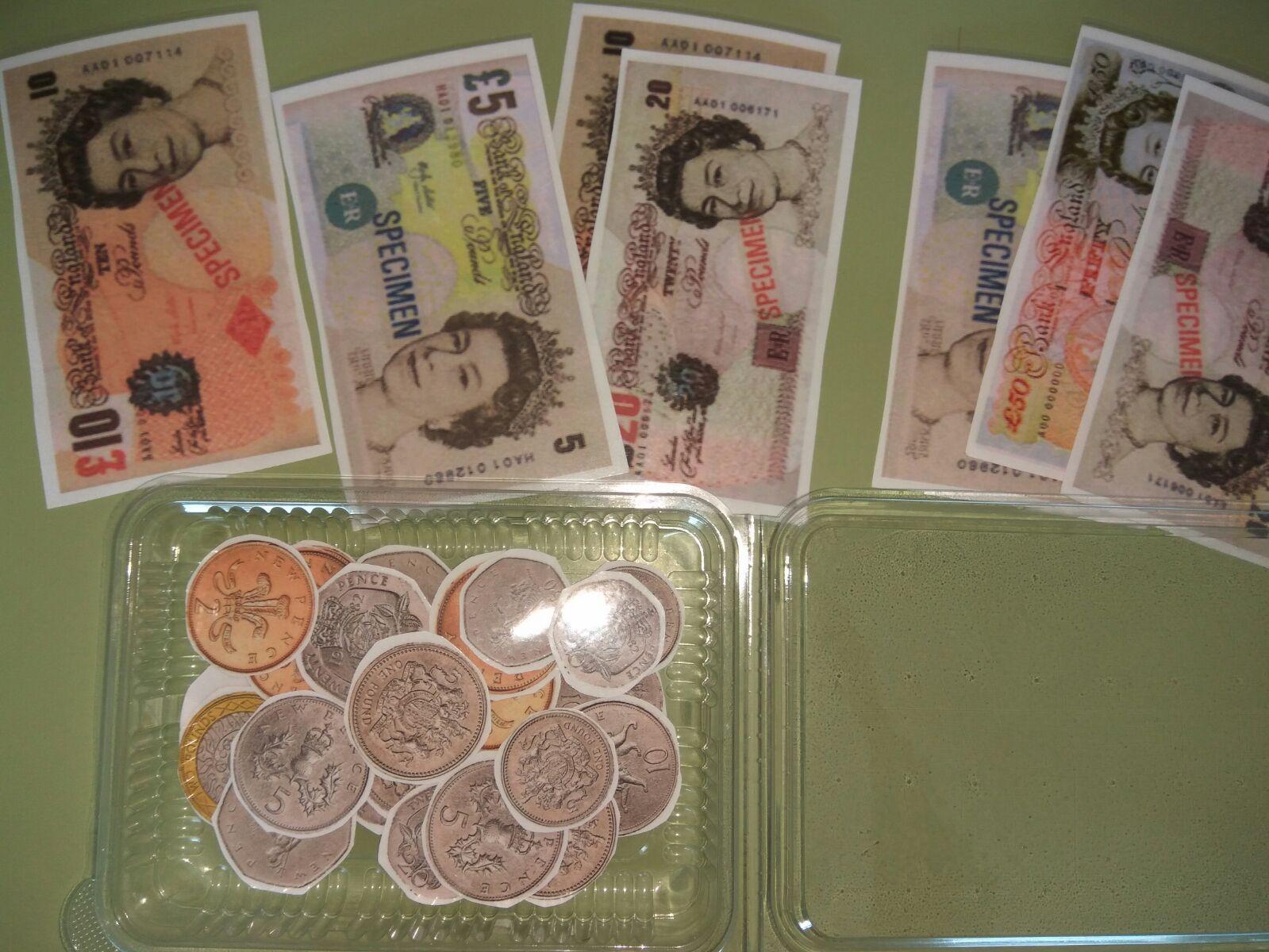 MONEY (RESTAUTANT-SUPERMARKET)