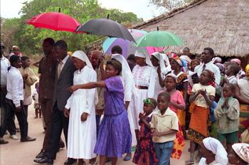 Boda en Matibane, Mozambique