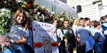 Ofrenda floral a Nuestra Señora de la Almudena 2017 16