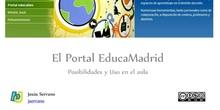 El Portal EducaMadrid. Posibilidades y uso en el aula