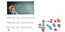 SECUNDARIA - 3º - SISTEMAS DE ECUACIONES LINEALES - MATEMÁTICAS