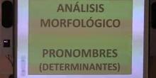 Pronombres. Análisis morfológico
