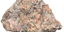 Cuarzo, var. piel de leopardo