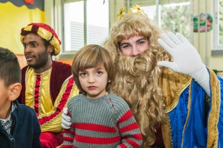 Los RRMM y Papá Noel en INF 4B 12