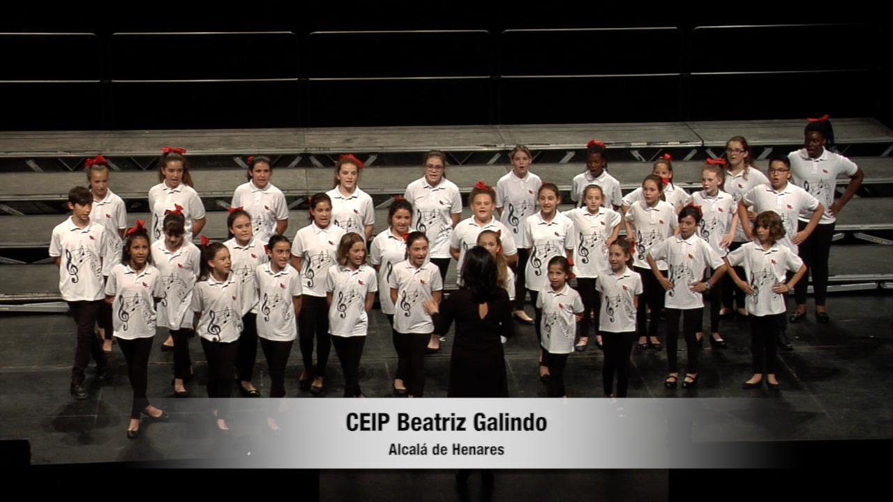 Acto de clausura del XIV Concurso de Coros Escolares de la Comunidad de Madrid 19