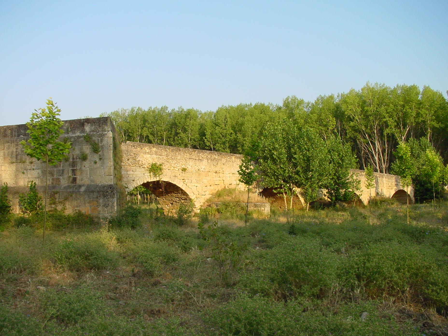 Puente romano en Talamanca del Jarama