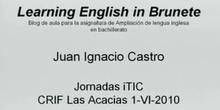 Ponencia D.Juan Ignacio Castro Barbero