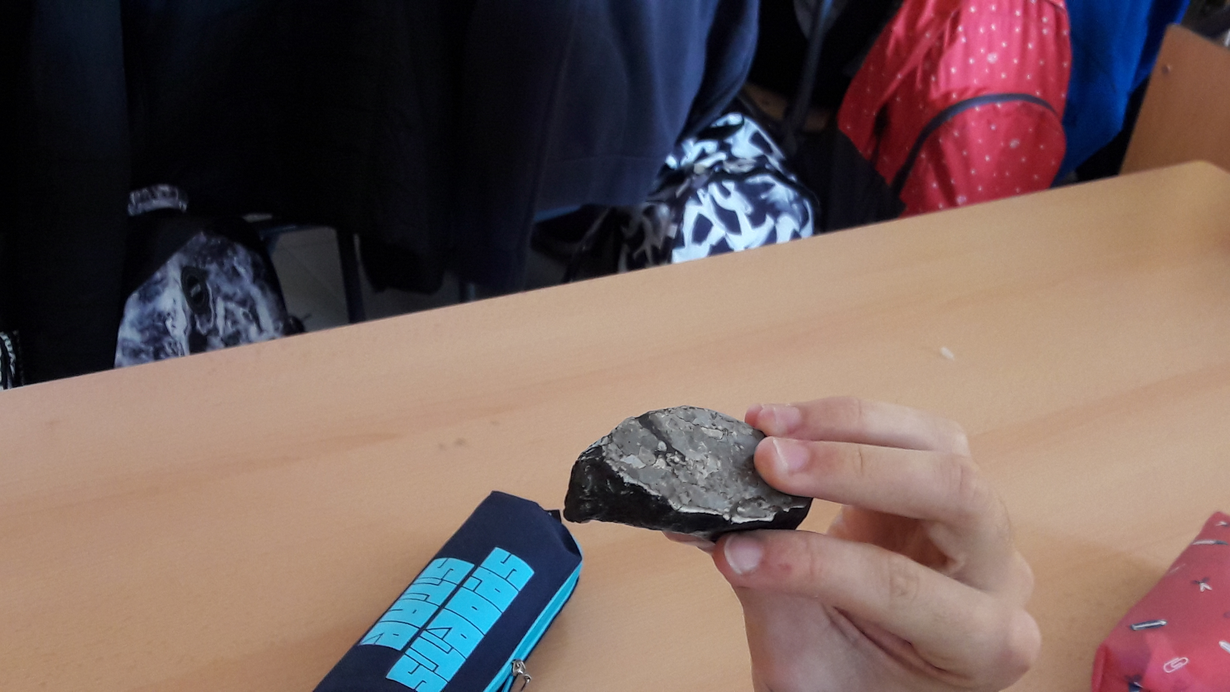 Identificando meteoritos Antárticos