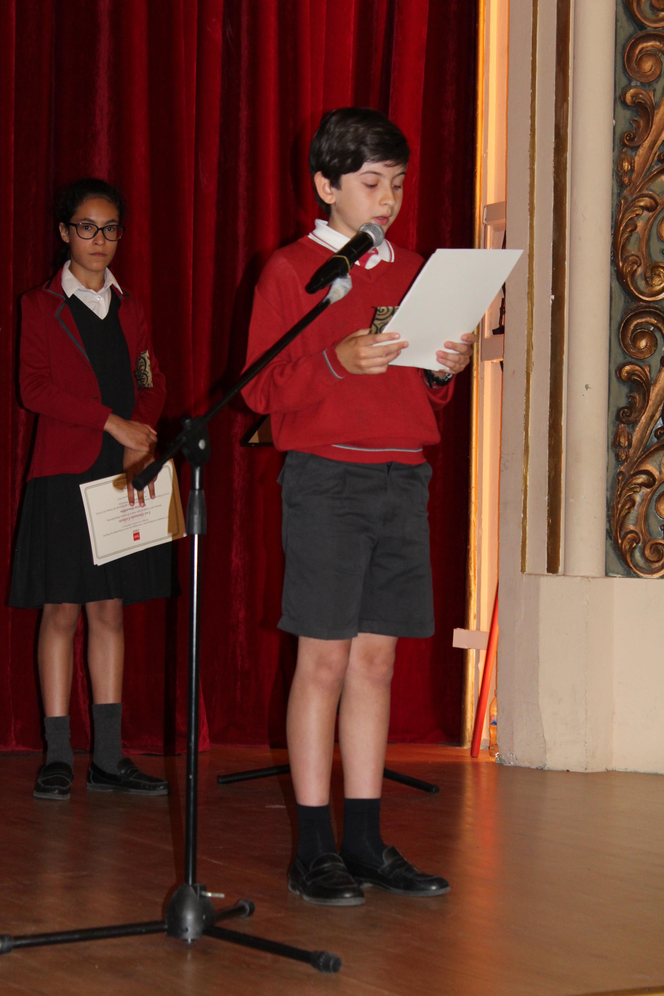 Entrega de los premios del IX Concurso de Narración y Recitado de Poesía 12