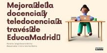 Ponencia 2. Cloud y Mediateca de Educamadrid. CEIP Federico García Lorca (Alcobendas)