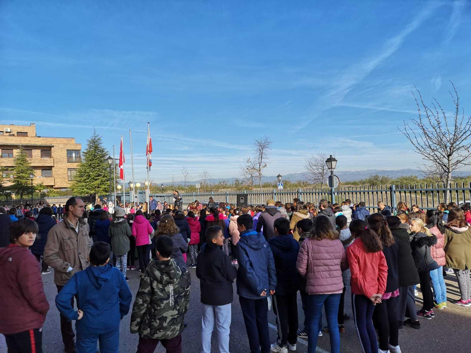Dia de la Constitución ceip Ágora de Brunete 2
