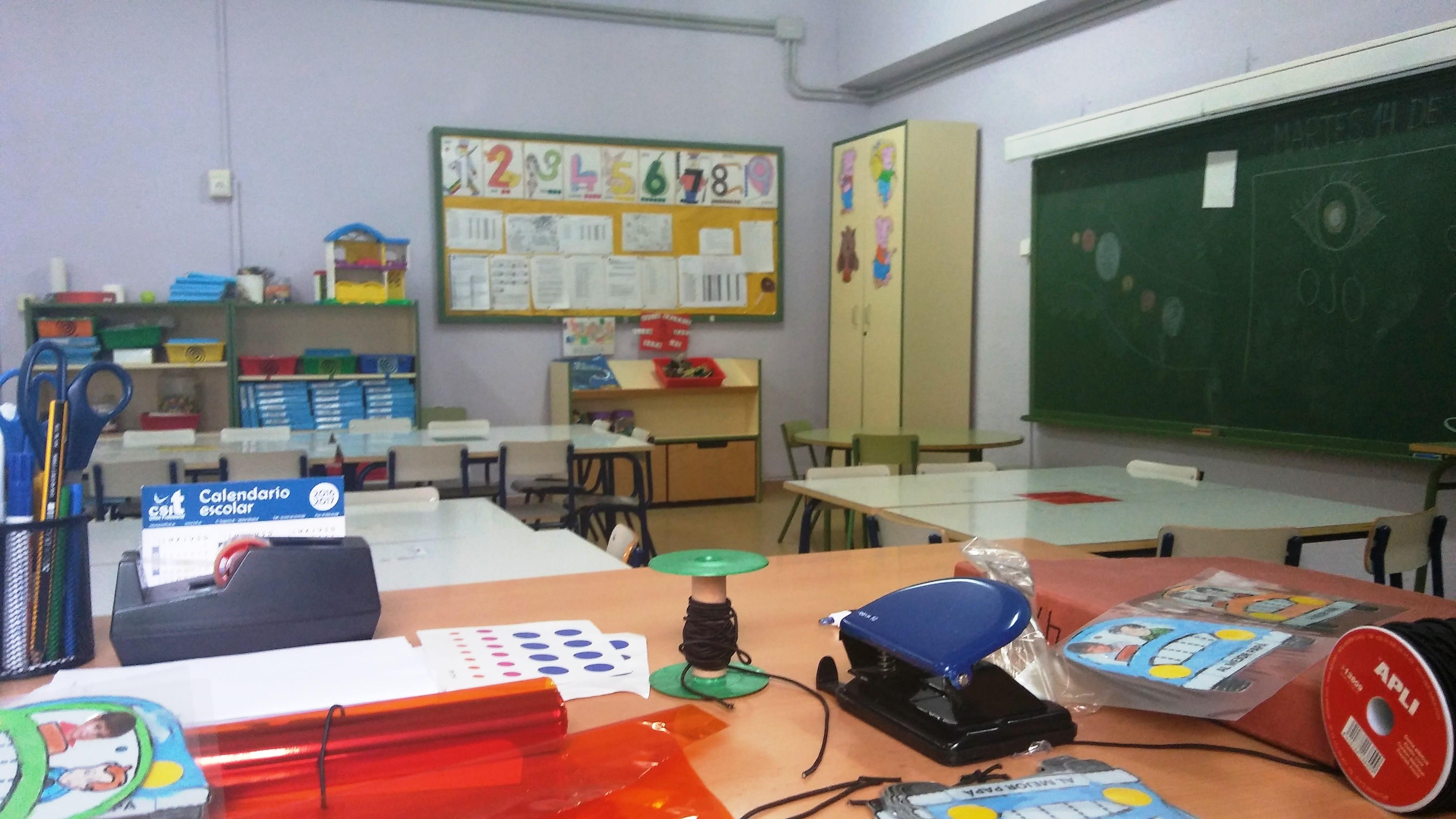 Aulas de Infantil 16