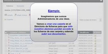 Directorio de ficheros: Asistente de permisos