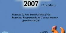 Boadinux 2007 - Programando en C con el entorno gratuito MinGW