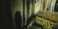 Accesos a cámara, iconostasio y tribuna de la iglesia de Santa C