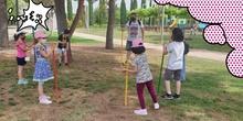Convivencia en el Parque Lineal del Manzanares