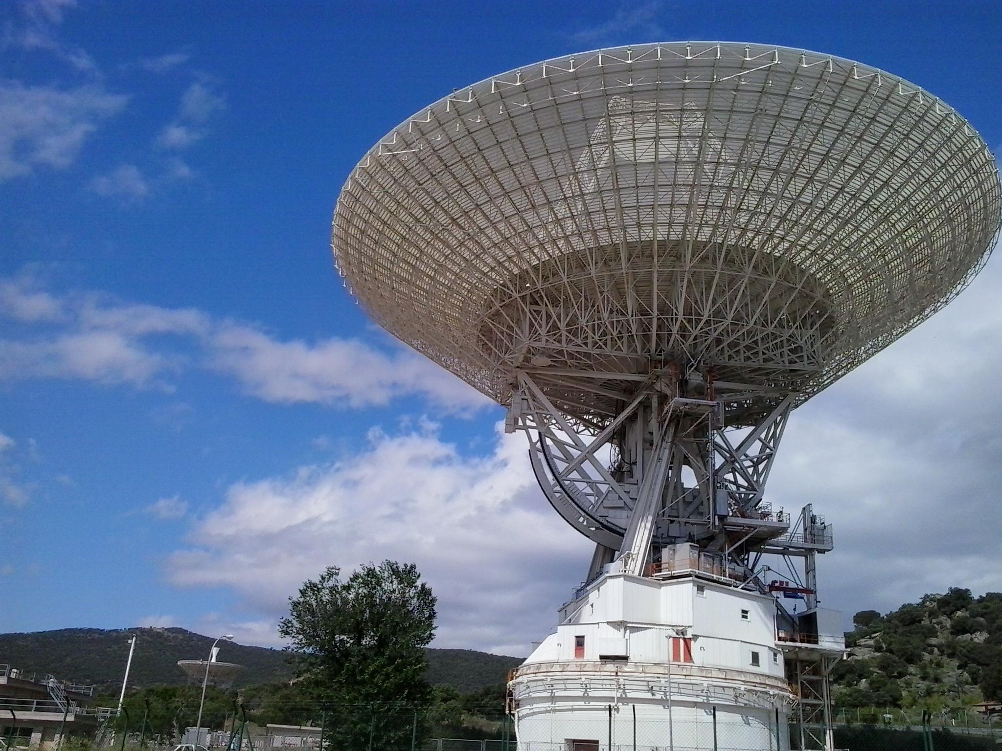 La tercera estación espacial de comunicación con el ESPACIO PROFUNDO